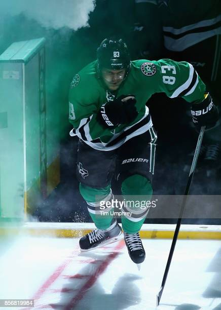 Ales Hemsky of the Dallas Stars plays in a game against the Colorado Avalanche at American Airlines Center on February 3 2015 in Dallas Texas