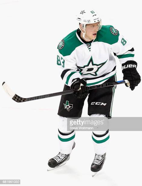 Ales Hemsky of the Dallas Stars plays in the game against the Chicago Blackhawks at the United Center on November 16 2014 in Chicago Illinois