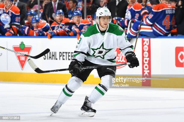 Ales Hemsky of the Dallas Stars skates during the game against the Edmonton Oilers on March 14 2017 at Rogers Place in Edmonton Alberta Canada