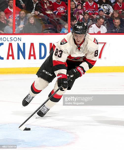 Ales Hemsky of the Ottawa Senators skates against the Montreal Canadiens at Canadian Tire Centre on April 4 2014 in Ottawa Ontario Canada