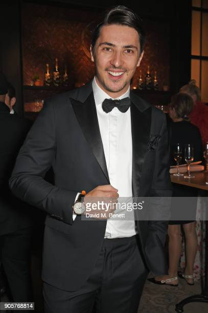Alesandro Ljubicic attends the IWC Schaffhausen Gala celebrating the Maison's 150th anniversary and the launch of its Jubilee Collection at the Salon...