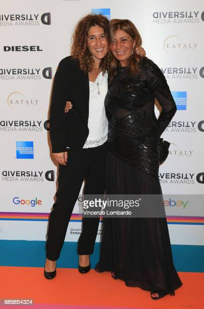 Alesassandra Brogno and Irene Bozzi attend Diversity Media Awards Charity Gala Dinner on May 29 2017 in Milan Italy
