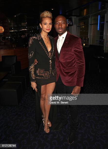 Alesha Dixon and her partner Azuka Ononye join War Child and O2 to watch Coldplay perform at their intimate show at Passport to BRITs week on...