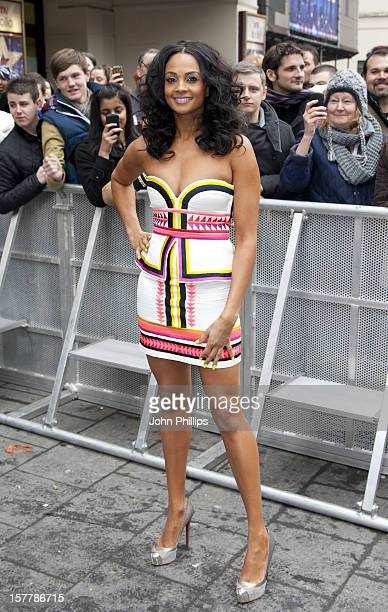 Alesha Dixon Arrives At The First Auditions In London For Britains Got Talent