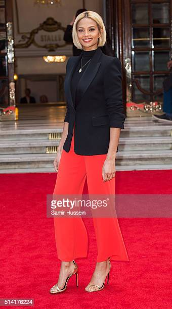 Alesha Dixon arrives at The Prince's Trust Celebrate Success Awards at London Palladium on March 7 2016 in London England
