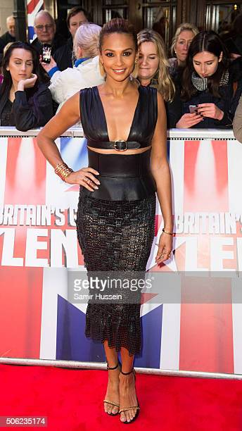 Alesha Dixon arrives for Britain's Got Talent Auditions on January 22 2016 in London England