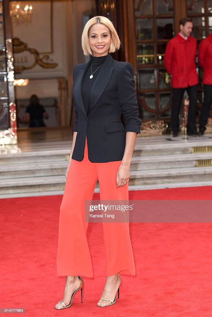 Alesha Dixon arrives for the Prince's Trust and Samsung Celebrate Success Awards at the London Palladium on March 7, 2016 in London, England.