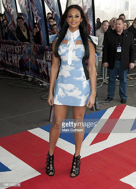 Alesha Dixon Arriving At The Press Launch For Britains Got Talent At The Bfi In London