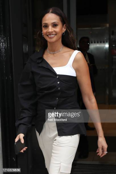 Alesha Dixon at BBC Radio 2 on March 04 2020 in London England