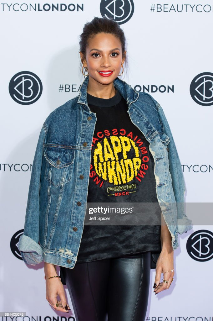 Alesha Dixon attends Beautycon Festival 2017 at Olympia London on December 2, 2017 in London, England.