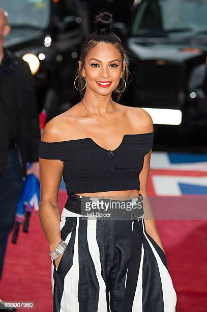 Alesha Dixon attends Britain's Got Talent London Auditions at London Palladium on January 29 2017 in London United Kingdom