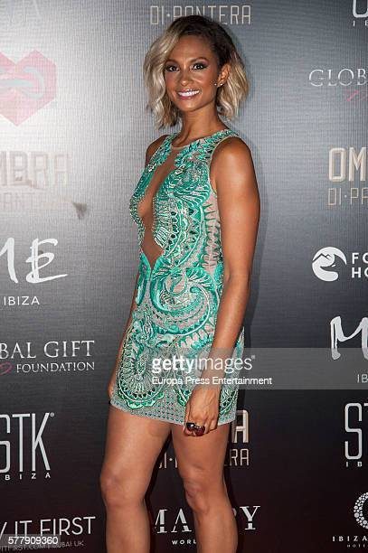 Alesha Dixon attends Global Gift Gala Ibiza 2016 at Gran Melia Don Pepe Resort on July 19 2016 in Ibiza Spain