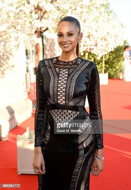 Alesha Dixon attends the 2nd annual Jersey Style Awards in association with Bentley Motors Chopard and Ortac Aviation to celebrate the best of art...