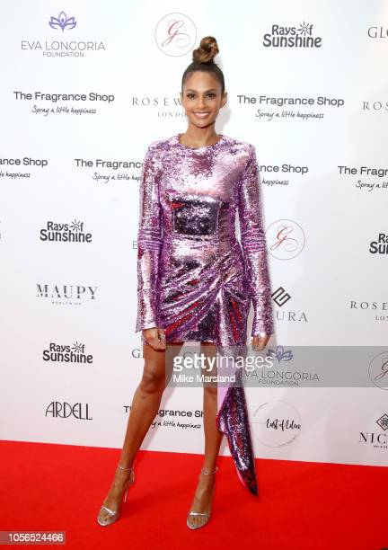 Alesha Dixon attends The 9th Annual Global Gift Gala held at The Rosewood Hotel on November 2 2018 in London England