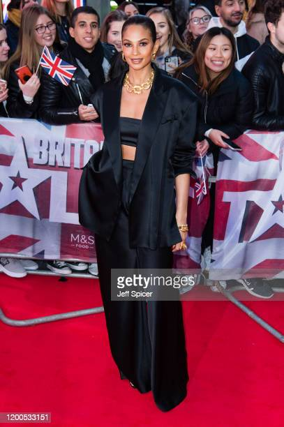 Alesha Dixon attends the Britain's Got Talent 2020 photocall at London Palladium on January 19, 2020 in London, England.
