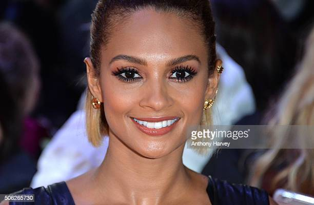Alesha Dixon attends the Britain's Got Talent Auditions on January 22, 2016 in London, England.