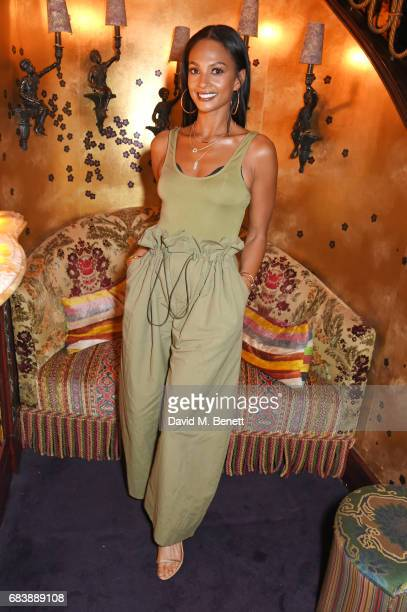 Alesha Dixon attends the 'Can't Stop Won't Stop A Bad Boy Story' dinner hosted by Sean 'Diddy' Combs Naomi Campbell presented by Apple Music at...