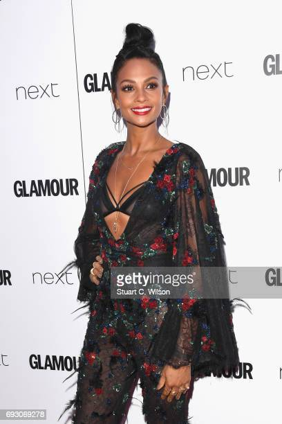 Alesha Dixon attends the Glamour Women of The Year awards 2017 at Berkeley Square Gardens on June 6 2017 in London England