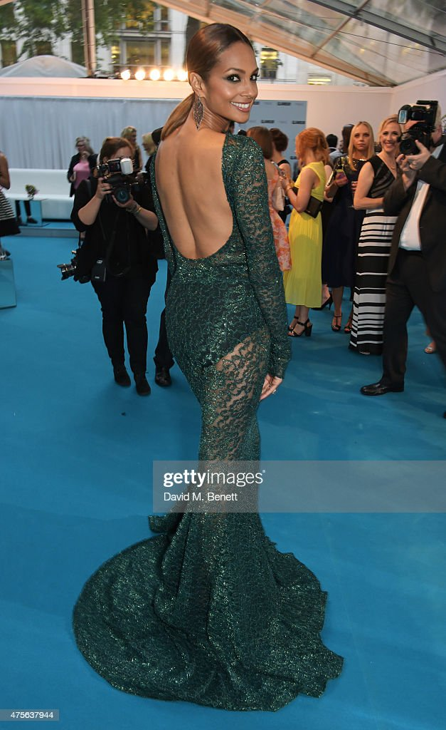 Alesha Dixon attends the Glamour Women Of The Year awards at Berkeley Square Gardens on June 2, 2015 in London, England.