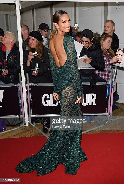 Alesha Dixon attends the Glamour Women of the Year Awards at Berkeley Square Gardens on June 2 2015 in London England