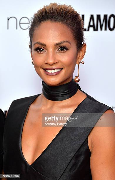 Alesha Dixon attends the Glamour Women Of The Year Awards at Berkeley Square Gardens on June 7 2016 in London England