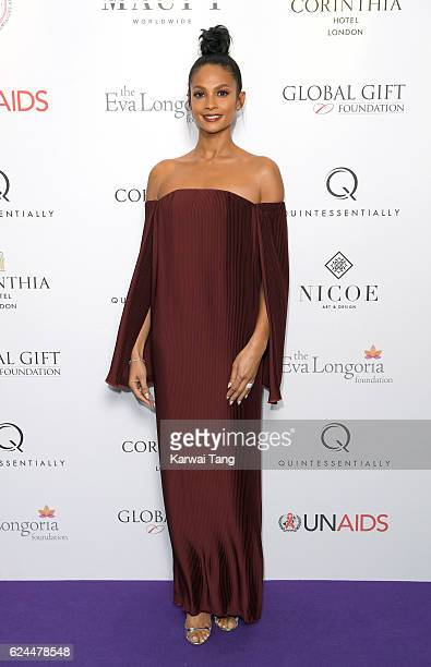 Alesha Dixon attends the Global Gift Gala in partnership with Quintessentially on November 19 2016 at the Corithinia Hotel in London United Kingdom