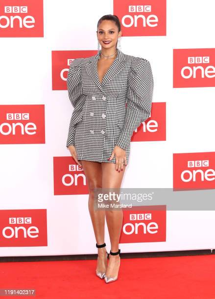 "Alesha Dixon attends ""The Greatest Dancer"" photocall at Soho Hotel on December 02, 2019 in London, England."