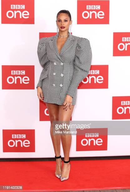 Alesha Dixon attends The Greatest Dancer photocall at Soho Hotel on December 02 2019 in London England
