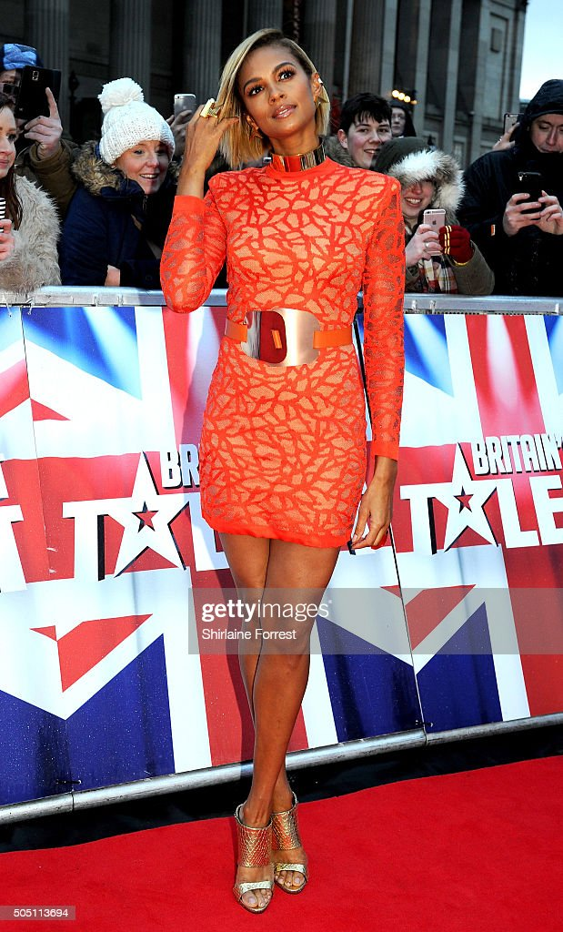 Alesha Dixon attends the Liverpool auditions for Britain's Got Talent at Liverpool Empire Theatre on January 15, 2016 in Liverpool, England.