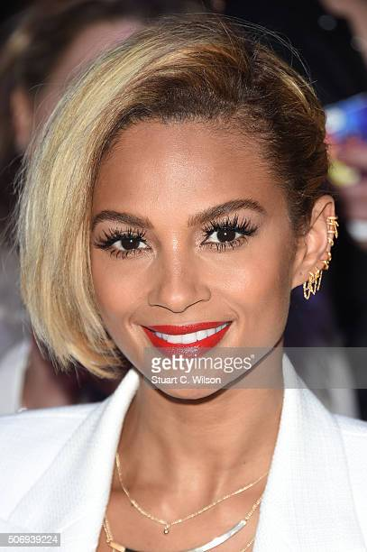 Alesha Dixon attends the London auditions of 'Britain's Got Talent' at Dominion Theatre on January 26 2016 in London England