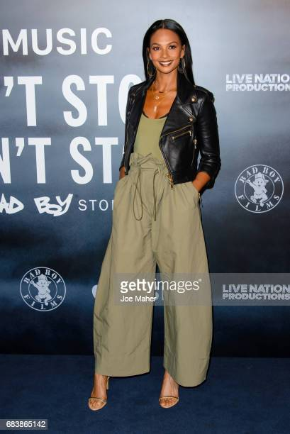 Alesha Dixon attends the London Screening of 'Can't Stop Won't Stop A Bad Boy Story' at The Curzon Mayfair on May 16 2017 in London England