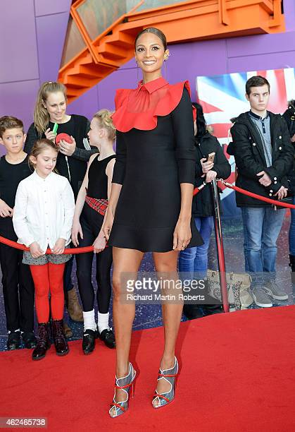 Alesha Dixon attends the Manchester auditions for Britain's Got Talent at The Lowry on January 29 2015 in Manchester England
