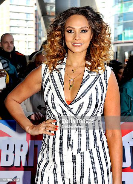 Alesha Dixon attends the Manchester auditions for Britain's Got Talent at The Lowry on February 7 2014 in Manchester England