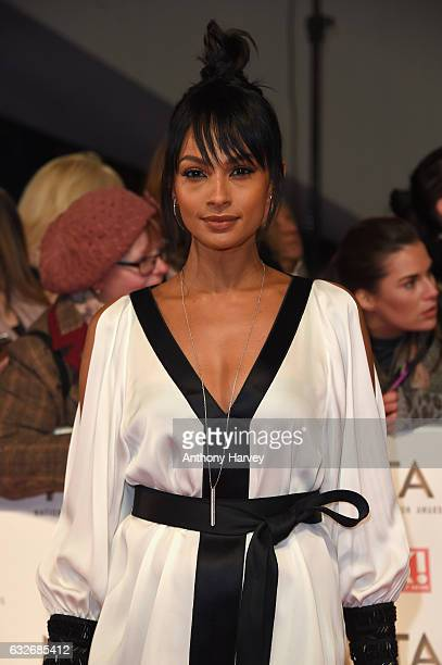 Alesha Dixon attends the National Television Awards on January 25 2017 in London United Kingdom