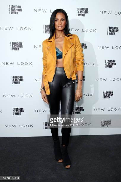 Alesha Dixon attends the New Look and the British Fashion Council LFW Launch Party during London Fashion Week September 2017 on September 14 2017 in...
