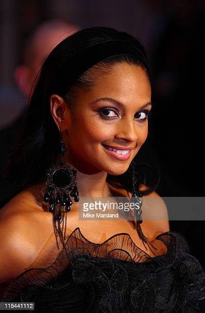 Alesha Dixon attends The Orange British Academy Film Awards 2009 at the Royal Opera House on February 8 2009 in London England