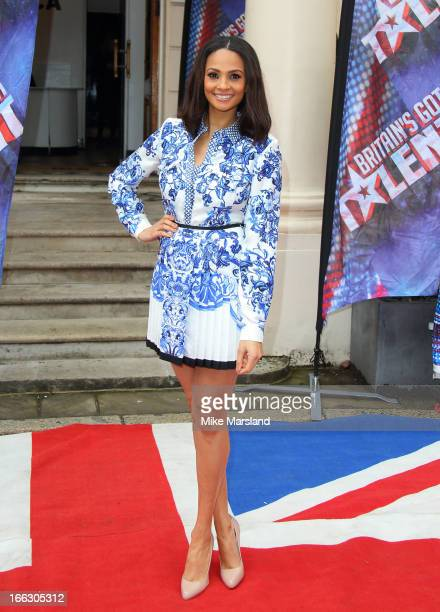 Alesha Dixon attends the press launch for the new series of 'Britain's Got Talent' at ICA on April 11 2013 in London England