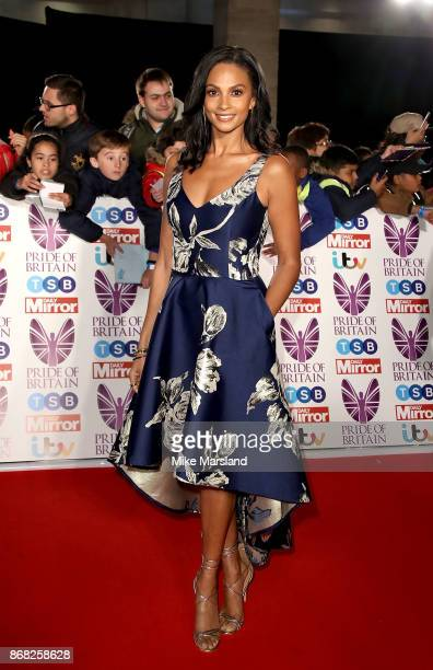 Alesha Dixon attends the Pride Of Britain Awards at Grosvenor House on October 30 2017 in London England