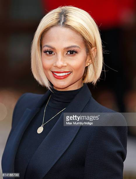 Alesha Dixon attends the Prince's Trust Celebrate Success Awards at the London Palladium on March 7 2016 in London England
