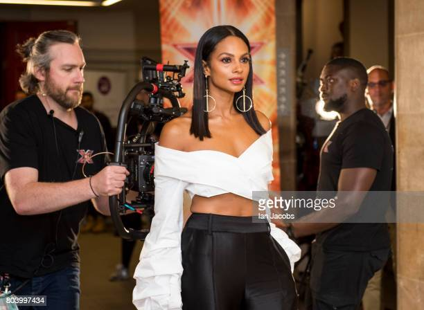 Alesha Dixon attends the X Factor auditions on June 28 2017 in Edinburgh Scotland