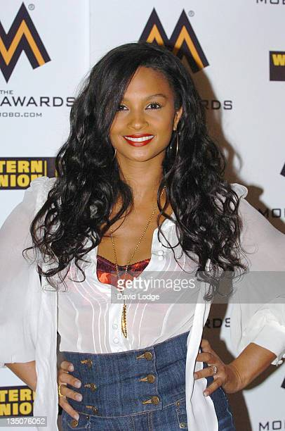 Alesha Dixon during 2006 MOBO Awards Nominations Outside Arrivals at Proud Gallery in London Great Britain