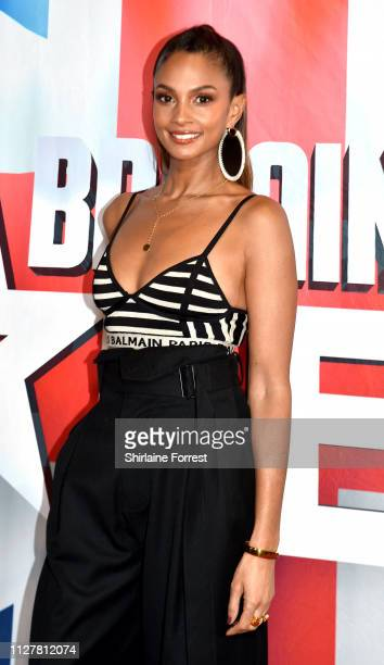 Alesha Dixon during the 'Britain's Got Talent' Manchester photocall at The Lowry on February 06 2019 in Manchester England