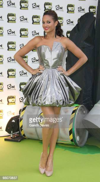 Alesha Dixon hosts the Ben's 10 Awards at the Unicorn Theatre on November 15 2009 in London England The awards announce 10 winners to join a new real...