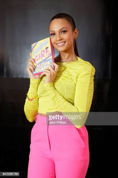 Alesha Dixon launches her first book 'Lightning Girl' at Science Museum on April 5 2018 in London England