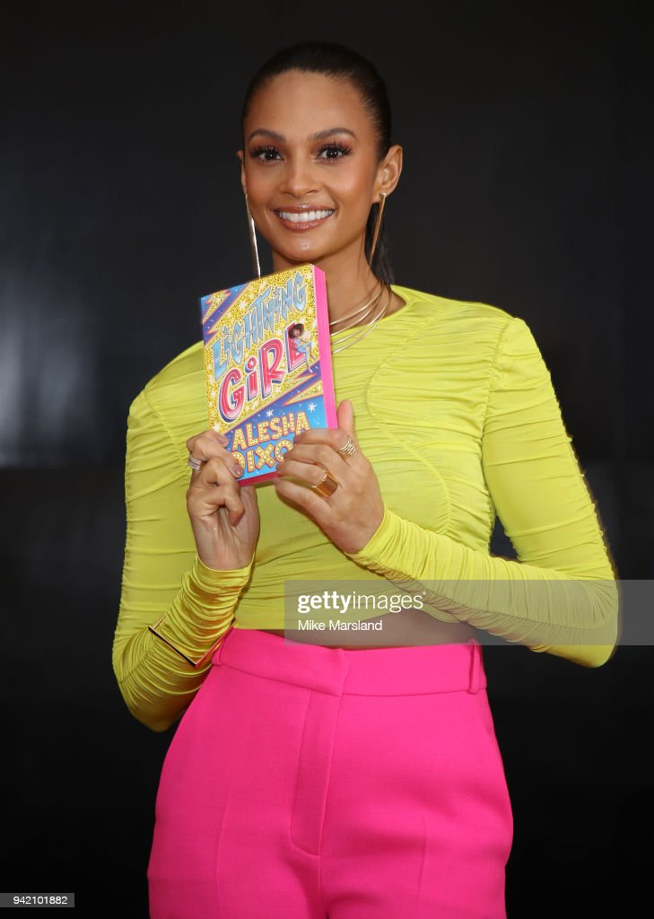 "Alesha Dixon Launches Her First Book ""Lightning Girl"""
