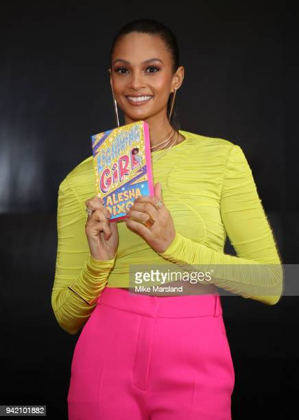 Alesha Dixon launches her first book Lightning Girl at Science Museum on April 5 2018 in London England