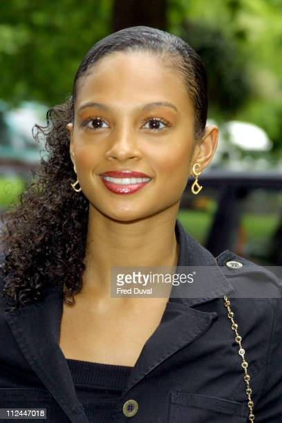 Alesha Dixon of Misteeq during 2003 Ivor Novello Awards May 22 2003 at Grosvenor House Hotel in London United Kingdom