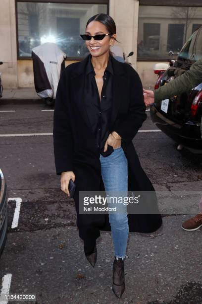Alesha Dixon seen at BBC Radio 2 on March 08 2019 in London England