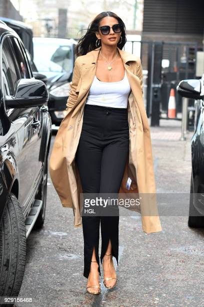 Alesha Dixon seen at the ITV Studios on March 8 2018 in London England