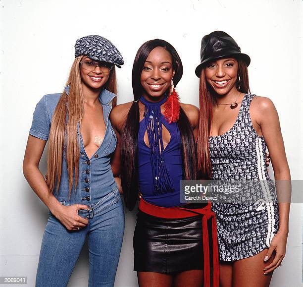 Alesha Dixon SuElise Nash and Sabrina Washington from the RB Garage girl band MisTeeq at a studio photo shoot in London on January 1 2002
